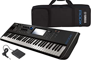 $1299 Get Yamaha MODX6 61-Key Semi-Weighted Synthesizer Keyboard w/Sustain Pedal, Cleanin