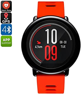Huami AMAZFIT Pace Sports Smart Watch Running Tracker, Phone-Free Music with Bluetooth 4.0, Heart Rate Monitor, GPS for Android iOS, 5 Days Battery Life, English Version