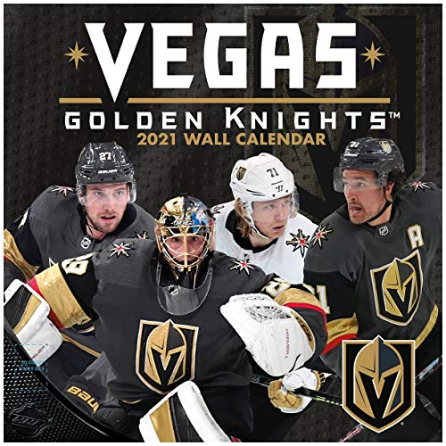 TURNER Sports Vegas Golden Knights 2021 12X12 Team Wall Calendar (21998012131)