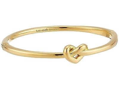 Kate Spade New York Loves Me Knot Loves Me Knot Bangle (Gold) Bracelet