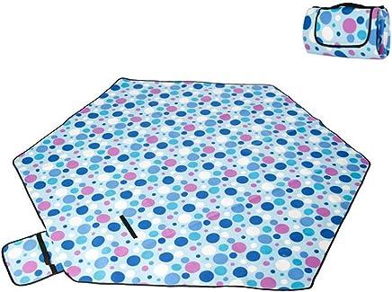 LSWGG Picknickdecke isoliert Picknickmatte Stranddecke Wasserdicht Campingdecke Picnic Blanket Fleece Faltbare Waschbare PicknickMatte 240 x 240cm Mit Tragegriff B07N3QJ6BW | Qualität