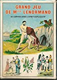 Jeu de 54 cartes : Grand jeu de Mlle Lenormand