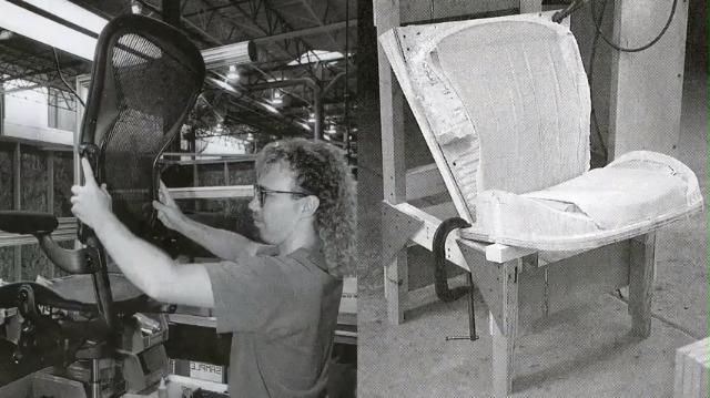 Herman Miller Aeron Ergonomic Chair - Size A, Graphite