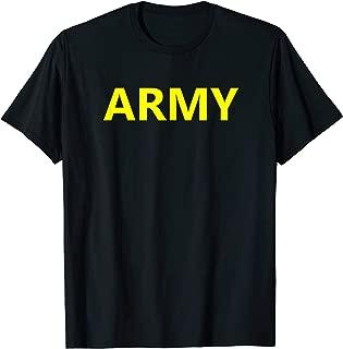 Army APFU Logo PT Shirt Workout Physical Training Uniform