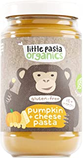Little Pasta Organic Gluten Free Cheesy Pumpkin Pasta, 180g