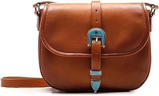 Golden Goose Luxury Fashion Damen GWA00137A00018055312 Braun Leder Schultertasche   Ss21