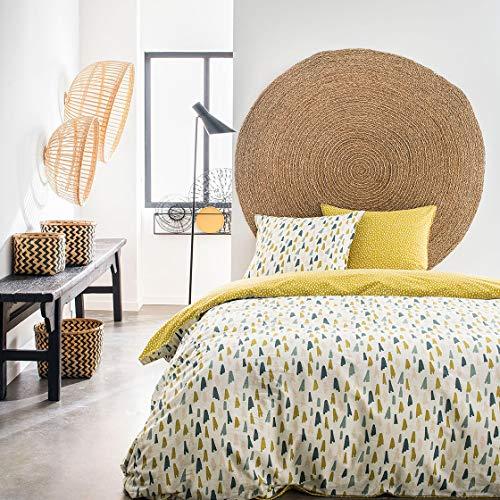 Bettwäsche-Set für Doppelbett, 220 x 240 cm, Baumwolle, Sunshine 4,35 cm