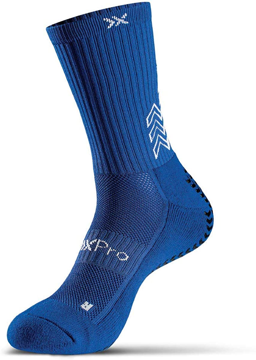 Quantity limited SoxPRO GRIP:IN Royal Blue El Paso Mall grip Small fits size 5-8.5 socks