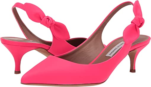 Pink Fluo Leather