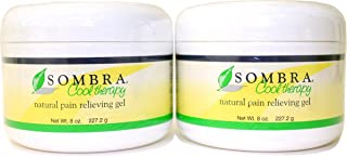 Sombra Cool Therapy Natural Pain Relieving Gel 8 oz (Pack of 2) by Sombra