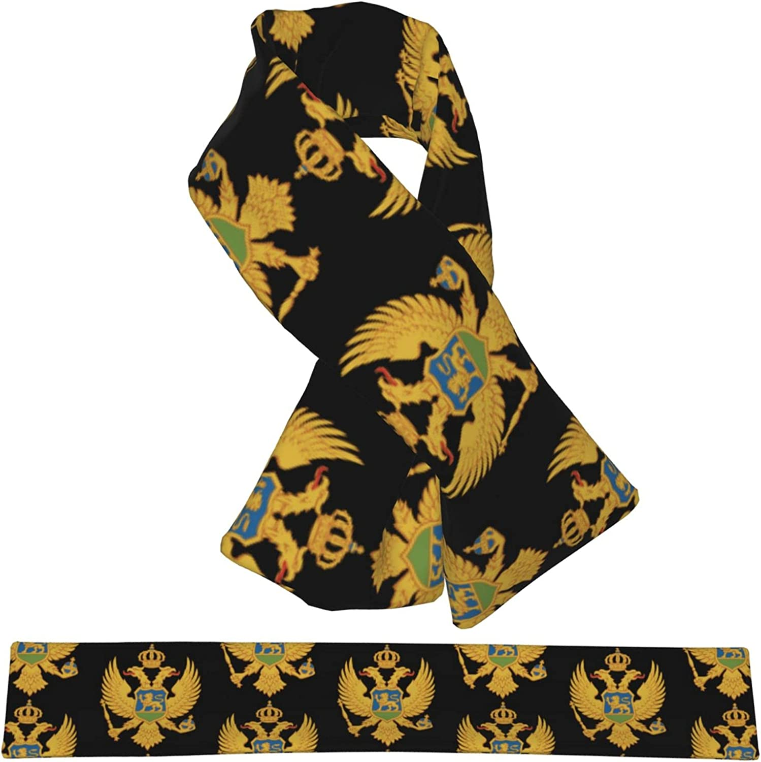 Flag Our shop OFFers the best service Of Excellent Montenegro Flannel Cross Collar Neck Wa Wrap Scarf Shawl