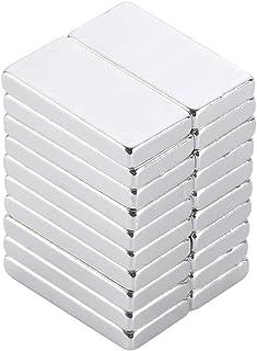 Yizhet 20PCS Super Fort Bloc Cuboïdes Aimant Puissant Terre Rare N35 Néodyme réfrigérateur, DIY, Cuisine, sous-Sol bâtimen...