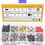 Justec 300PCS Personal Computer Screw Standoffs Set Kit for Hard Drive, Computer Case, Motherboard,...