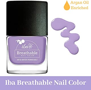 Iba Halal Care Breathable Nail Color, B04 French Lavender, 9ml