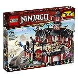 LEGO Ninjago Il Monastero Spinjitzu, Set di Costruzioni con Minifigure da Collezione Ninja, 70670