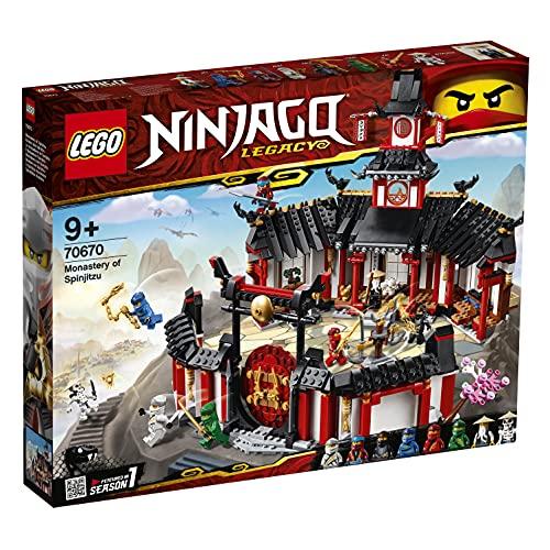 LEGO Ninjago IlMonasteroSpinjitzu, Set di Costruzioni con Minifigure da Collezione Ninja, 70670
