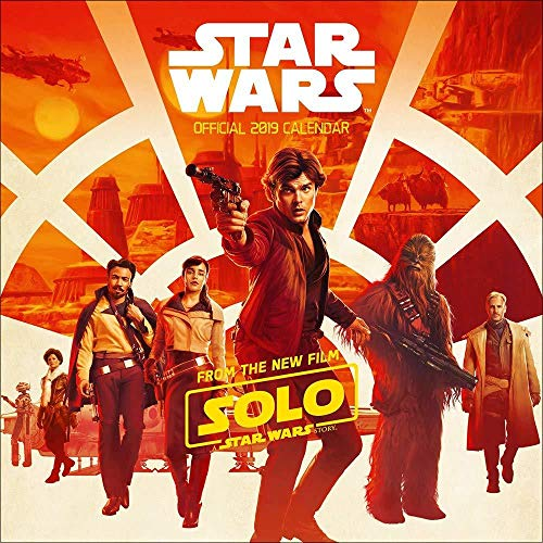 Star Wars: Hans Solo Official 2019 Calendar - Square Wall Ca