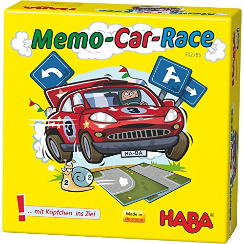 HABA 302785 Memo-Car-Race