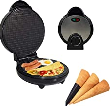 Machine à pain d'oeufs, sans for contrôler le chauffage à double face, une machine peut être utilisée for rôtir, frire, Do...