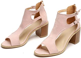 Low Heel Ankle Booties On Sale Clearance,melupa Spring Summer Ladies Sandals Fashion Fish Mouth Hollow Out Roma Shoes