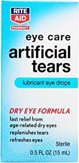 Rite Aid Pharmacy Artificial Tears, Sterile, 0.5 fl oz (15 ml)