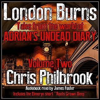 London Burns audiobook cover art