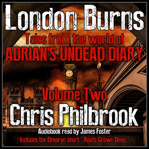 London Burns audiobook cover art