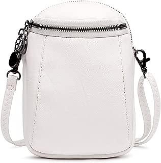 Crossbody Bag, Women Solid PU Leather Clutch Bag Card Bag Phone Bag Crossbody Bag