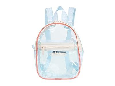 adidas Clear II Mini Backpack (Sky Tint/Semi Flash Red/Pink Tint) Backpack Bags