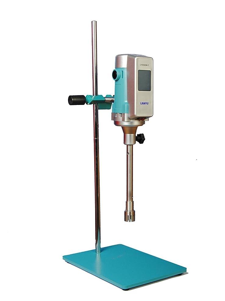 見えない減少里親LYD500W-T ホモミキサー攪拌機 デジタル ハンドブレンダー高速乳化/分散機850W 1000~28000 rpm Operating Head 30G AC100V ~ AC230V (110V)
