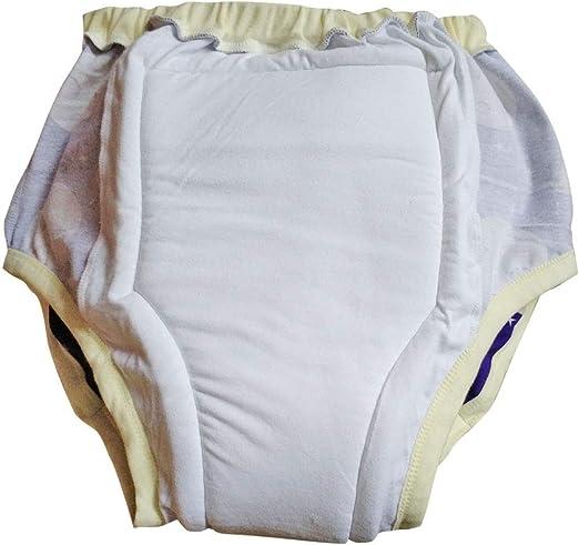 Happy Cherry Pack de 3 Culottes dapprentissage Respirantes b/éb/é Filles Culottes en Coton Formation avec Couches /élastiques Taille r/éutilisable Lavable Apprentissage Doux