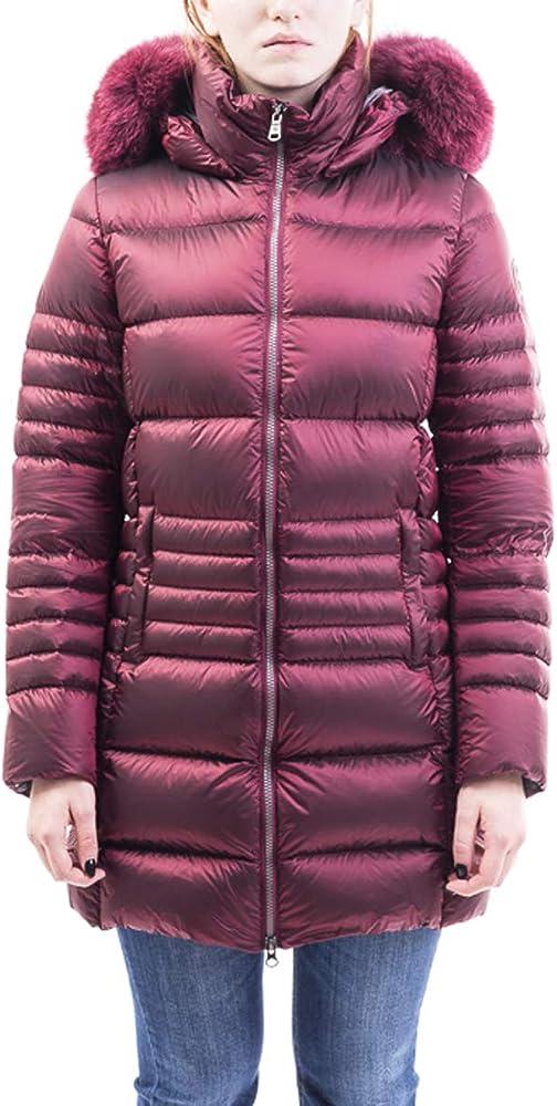 Colmar piumino per donna, con cappuccio con pelliccia,imbottitura 90%piumino d`anatra 10%piuma d`anatra 2289F7QD379
