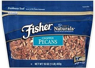 Fisher Chopped Pecans 16 Oz Zip-lock Bag