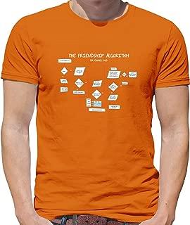 Dressdown The Friendship Algorithm - Mens Crewneck T-Shirt - 7 Colours
