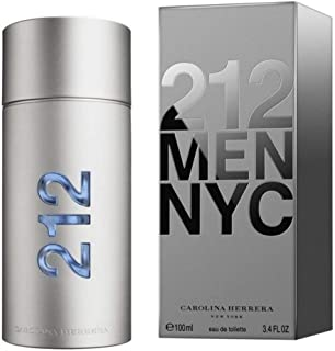 212 Men by Carolina Herrera for Men Eau de Toilette 100ml