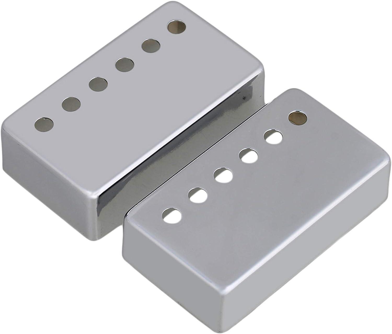 Max 53% OFF 2PCS 50mm Neck and 52mm Bridge Set Pickup Guitar Covers Metal Ch Max 58% OFF