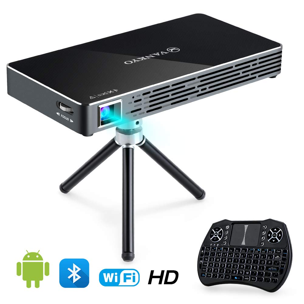 VANKYO Passport Portable Projector Pre Installed