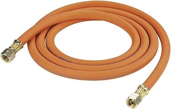 GOK Manguera de gas de 40 cm, para camping, 2 roscas de 1/4 pulgadas a la izquierda hasta -30 °C, propano