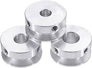 CJIANHUA 30mm Aluminum Alloy Single Groove Pulley 4-16mm Fixed Bore Pulley Wheel for Motor Shaft 6mm Belt All New Never Us...