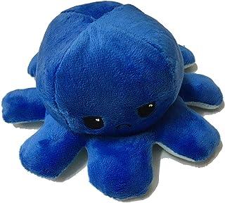 1PCS Octopus Soft Toy, Kids' Plush Pillows,Double-Sided Flip, Reversible Octopus Plush Stuffed Soft Animal Doll Plushie Cu...