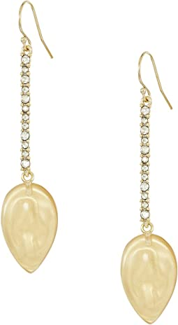 Alexis Bittar - Crystal Encrusted Liquid Silk Drop Earrings