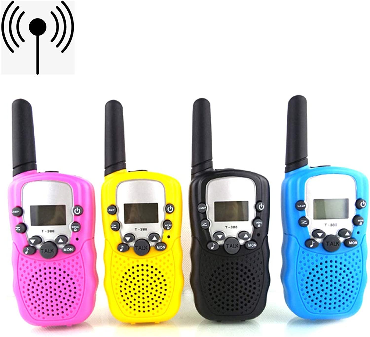 CX TECH Kids Walkie Talkie Kids Toys Wireless Talkie Rechargeable The Top Builtin LED Torch Radio Long Distance Range Walkie Other Outdoor Activities Girls Boys Gifts(walkie talkie4