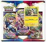 Pokemon POK80655-D12 TCG: Sword and Shield Lot de 3 boosters (Un au Hasard)