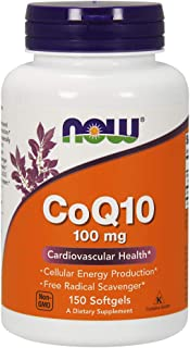 NOW Coq10 100mg, 150 Softgels