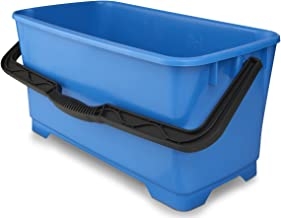 Unger - DB02 Professional Heavy Duty Professional Cleaning Bucket, 6 Gallons Blue