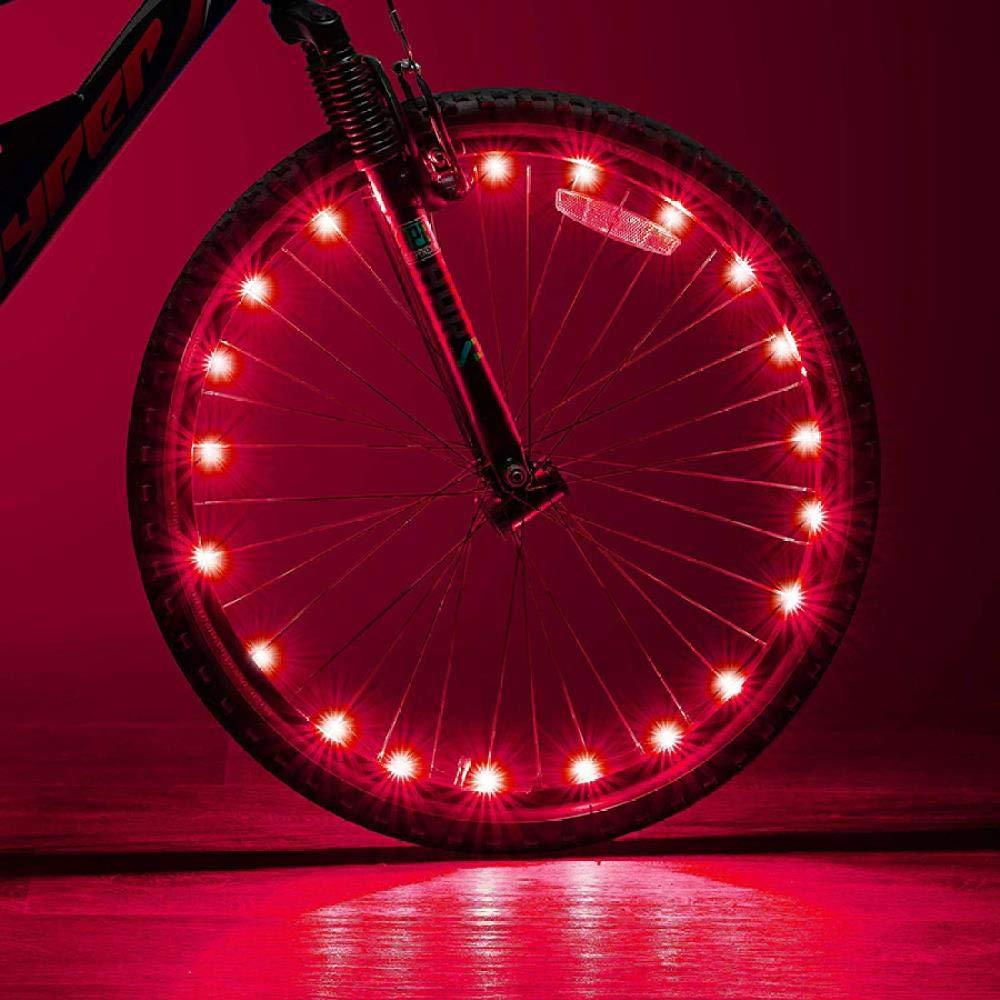 GFSDDS Luces De Navidad Bicicleta Led Bicicleta De Montaña Rueda ...