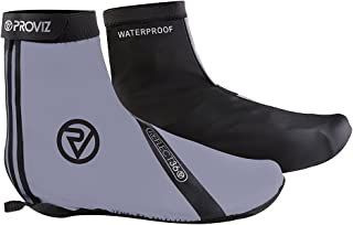Proviz REFLECT360 Waterproof Reflective Overshoes, Great for Cycling!