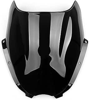 Windshield WindScreen Double Bubble for Hyosung GT125 GT250R GT650R Black