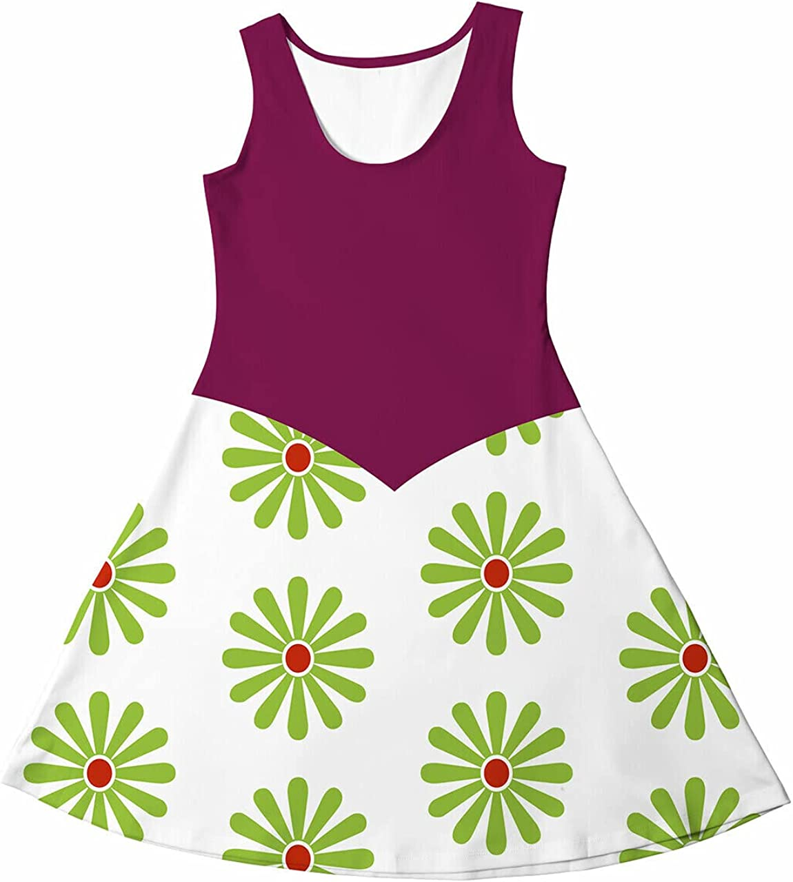 Rainbow Rules Girls Sleeveless Dress Mansion Las Vegas Mall - Haunted Tightrope Super-cheap