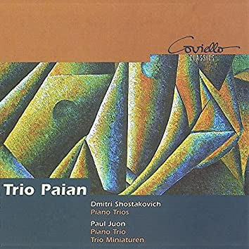 Shostakovich & Juon: Piano Trios
